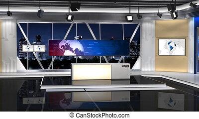 100c2, nieuws, studio, rechts, shift