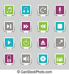 16, muziek, iconen