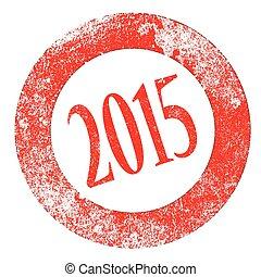 2015, rubberstempel