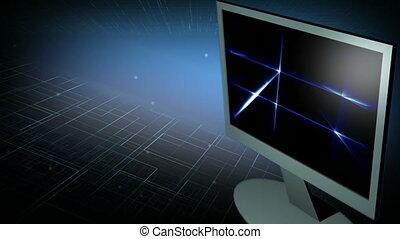 4, monitor, computer