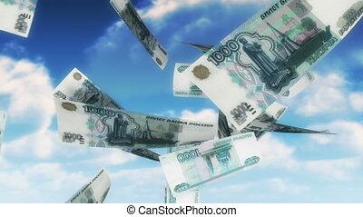 aanstrijken, geld, hemel, -, (loop)