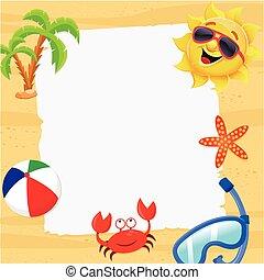 aantekening, zomer