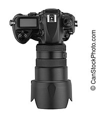 aanzicht, path), professioneel, (clipping, digitale , reflex-top, lens