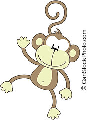 aap, vrolijke
