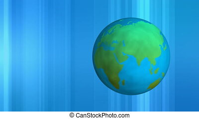 aarde, achtergrond, digitale , ronddraaien, beweging, blauwe
