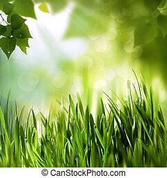 abstract, achtergronden, milieu, groene, ontwerp, jouw, wereld