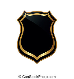 abstract, badge