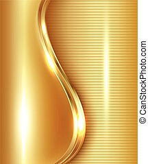 abstract, goud, achtergrond
