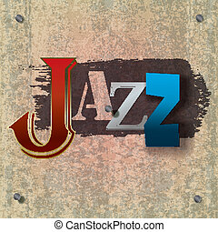 abstract, jazz muziek, achtergrond