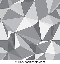 abstract, -, seamless, textuur, vector, achtergrond, veelhoek