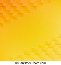abstract, sinaasappel, gele achtergrond