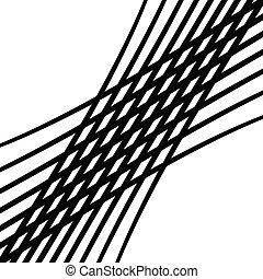 abstract, vierkant formaat, undulating, model, lines., mesh., interlock, illustratie, golvend, weven, kronkelig, geometrisch, waggelen, spannen, achtergrond, zwaaiende , stripes., squiggle, rooster, billowy, snijden, knoop, texture., lijnen, interlace