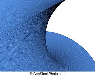 abstract, voorwerp, 3d