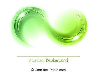 abstract, voorwerpen, groene