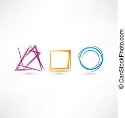 abstract, zakelijk, pictogram