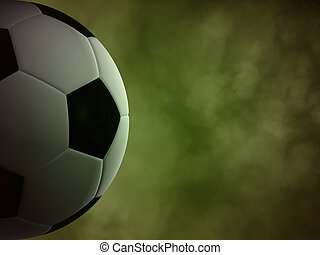 achtergrond, bal, voetbal