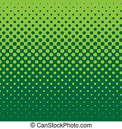 achtergrond, lineair, halftone, groene toon