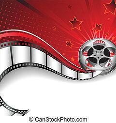 achtergrond, motives, bioscoop