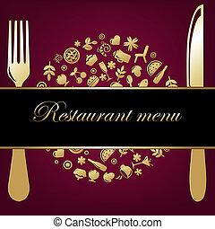 achtergrond, restaurant