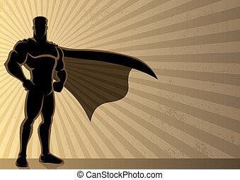 achtergrond, superhero