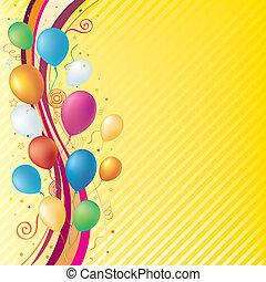 achtergrond, viering