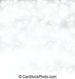 achtergrond., zilver, kerstmis