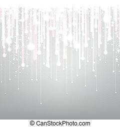 achtergrond., zilver, textured