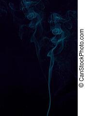 achtergronden, rook