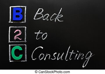 acroniem, b2c, raadgevend, -, back