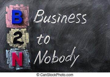 acroniem, b2n, niemand, -, zakelijk