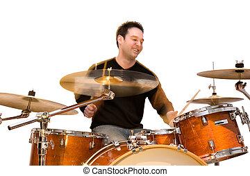 actie, drummer