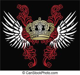 adelaar, heraldisch, embleem