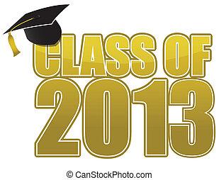 afgestudeerd, 2013