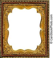 af)knippen, frame, daguerreotype, steegjes