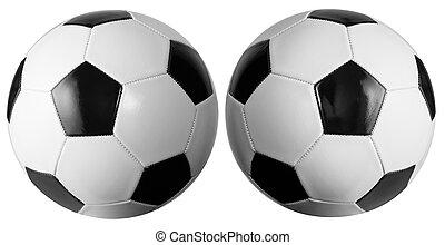 af)knippen, set, included., vrijstaand, twee, soccerballs, verlichting, elke, steegjes, een beetje, ball., anders
