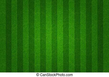 akker, achtergrond, groene, voetbal, gras