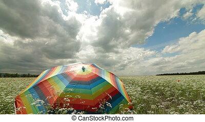 akker, paraplu