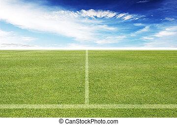 akker, voetbal, of, voetbal