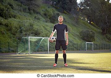 akker, voetbal, voetbalspeler