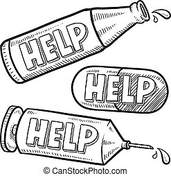 alcohol, drugs, schets, helpen