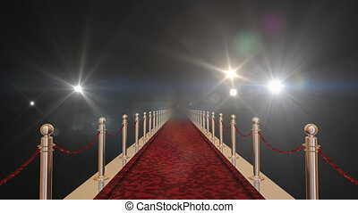 alp, rood, flashlights, tapijt