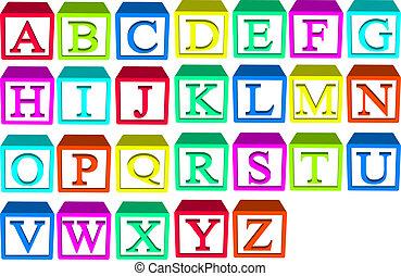 alphabet blokkeert