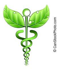alternatief, symbool, geneeskunde