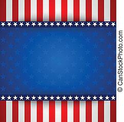 amerikaan, achtergrond