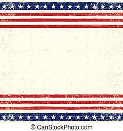 amerikaan, plein, kaart