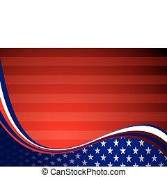 amerikaan, usa, achtergrond