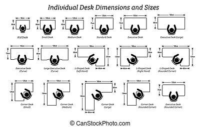 anders, afmeting, sizes., individu, desktop, tafel