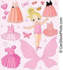 anders, baby meisje, jurken