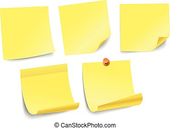 anders, kleur, tekst, vrijstaand, verzameling, papier, white., mal, stickers