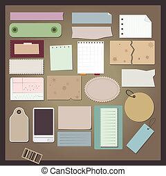 anders, papier, voorwerpen